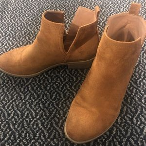 Shoes - Chestnut booties